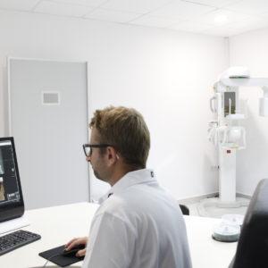 Gabinet tomografii komputerowej